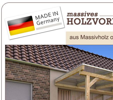 Terrassendach holzkonstruktion