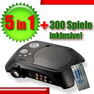 LED-Beamer-Heimkino-DVD-Player-Spielekonsole-Projektor-TV-Tuner-USB-SD-MMC-AV