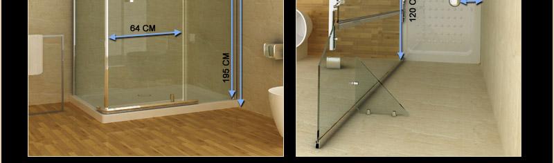 duschkabine duschtasse duschabtrennung duschwanne dusche 120 x 80 cm glasablage ebay. Black Bedroom Furniture Sets. Home Design Ideas