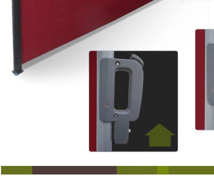 seitenmarkise sichtschutz windschutz 300 x 180 cm markise. Black Bedroom Furniture Sets. Home Design Ideas