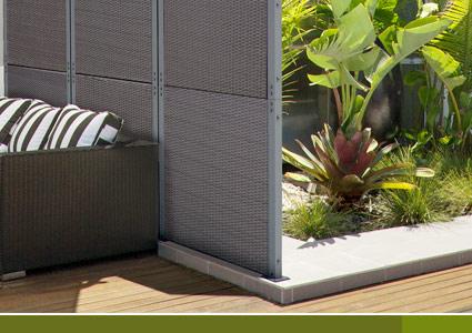 rattan sichtschutz windschutz polyrattan sichtschutzwand zaun set seitenmarkise. Black Bedroom Furniture Sets. Home Design Ideas