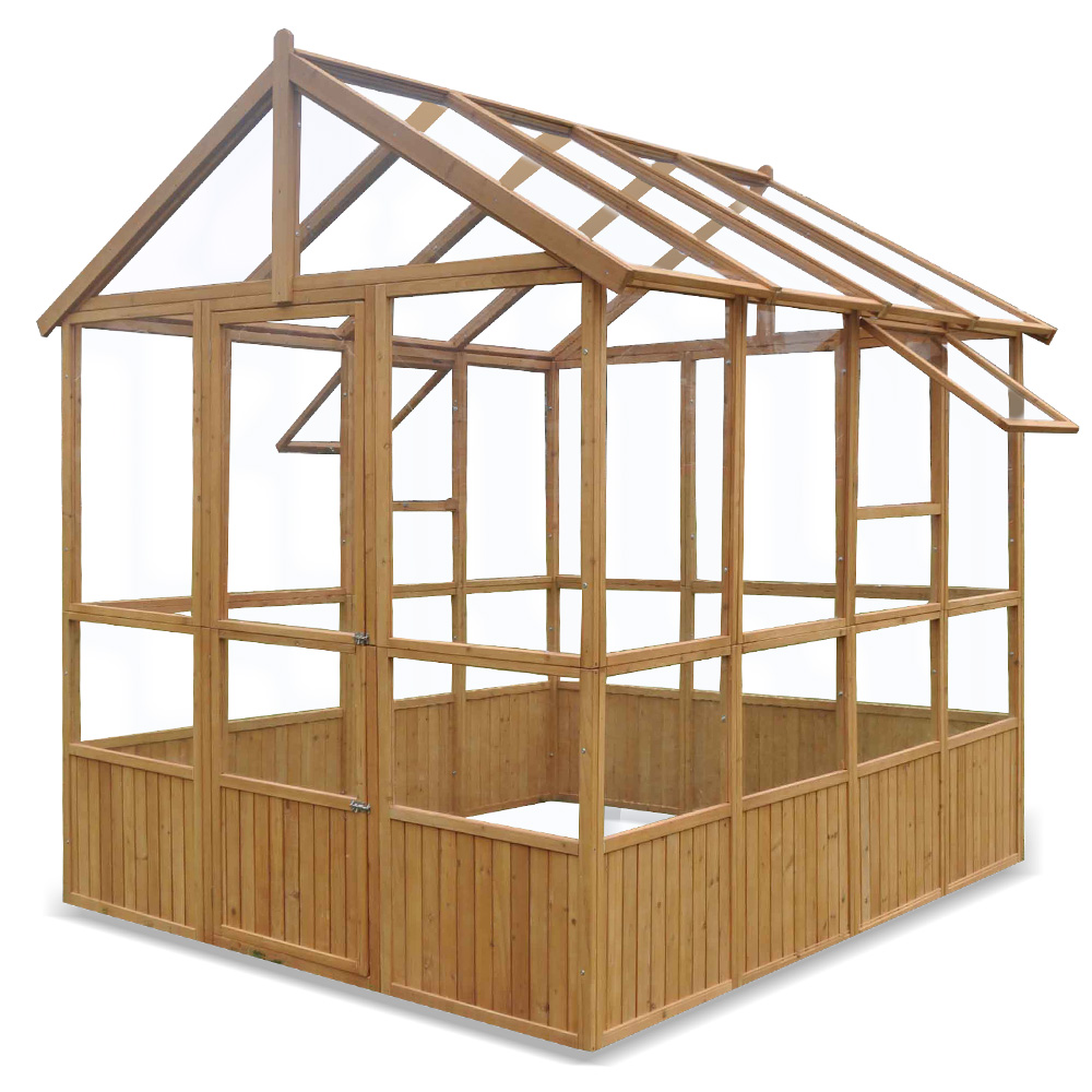 xxl gew chshaus holz treibhaus tomatenhaus gartenhaus plexiglas 251x213x261 cm ebay. Black Bedroom Furniture Sets. Home Design Ideas