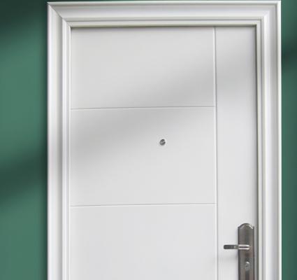 t r haust r sicherheitst r haust ren wohnungst r 96x205cm din rechts oder links ebay. Black Bedroom Furniture Sets. Home Design Ideas