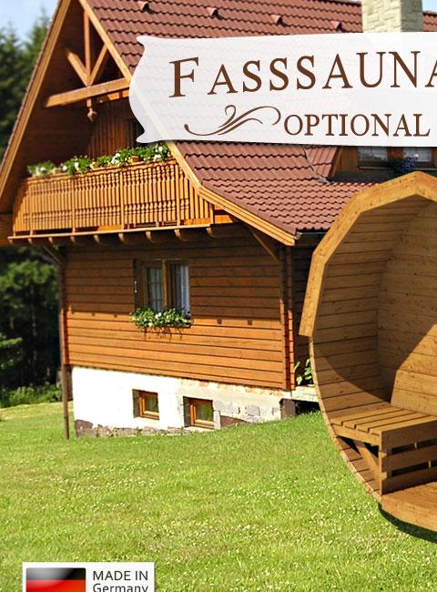 fasssauna outdoor sauna deluxe kaufen auf. Black Bedroom Furniture Sets. Home Design Ideas
