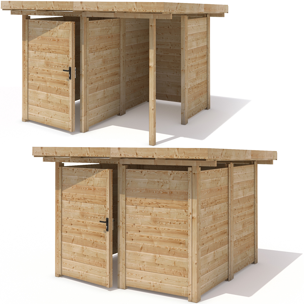 ger teschuppen ger tehaus ger teschrank holz gartenhaus 240x240cm schuppen 1 ebay. Black Bedroom Furniture Sets. Home Design Ideas