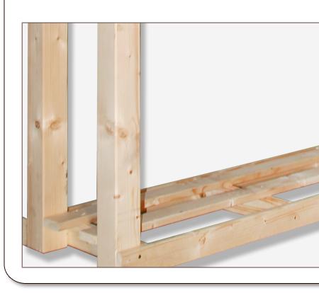 kaminholzregal brennholzregal kamin holz brennholz kaminholzunterstand holzregal ebay. Black Bedroom Furniture Sets. Home Design Ideas
