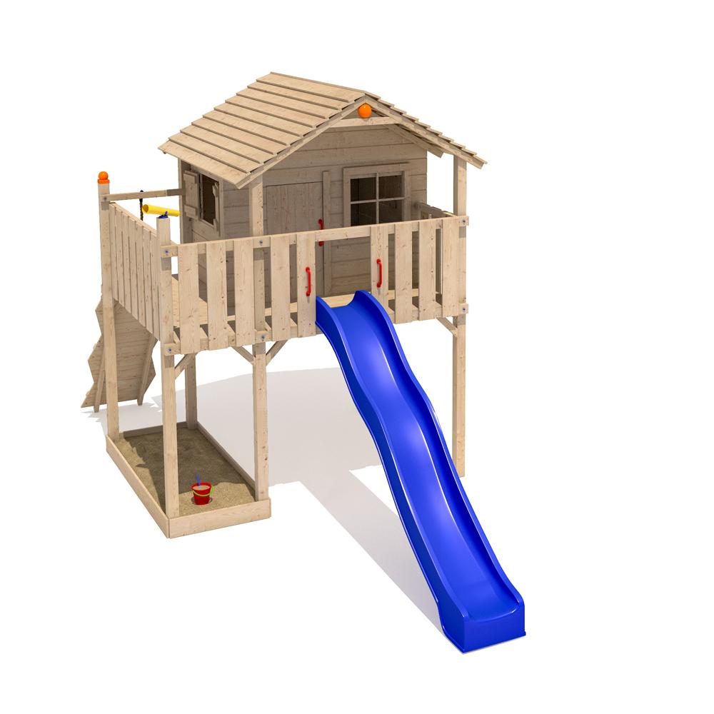 isidor solimo spielturm kletterturm rutsche 2 schaukeln kletterwand baumhaus ebay. Black Bedroom Furniture Sets. Home Design Ideas