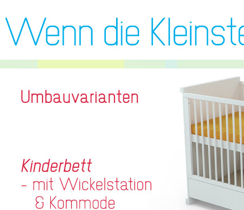 babybett wickelkommode jugendbett kinderbett kommode 120x60cm 4in1. Black Bedroom Furniture Sets. Home Design Ideas