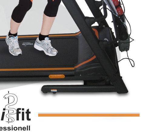 profi laufband fitness station heimtrainer sit up bank twist plate inkl hanteln ebay. Black Bedroom Furniture Sets. Home Design Ideas