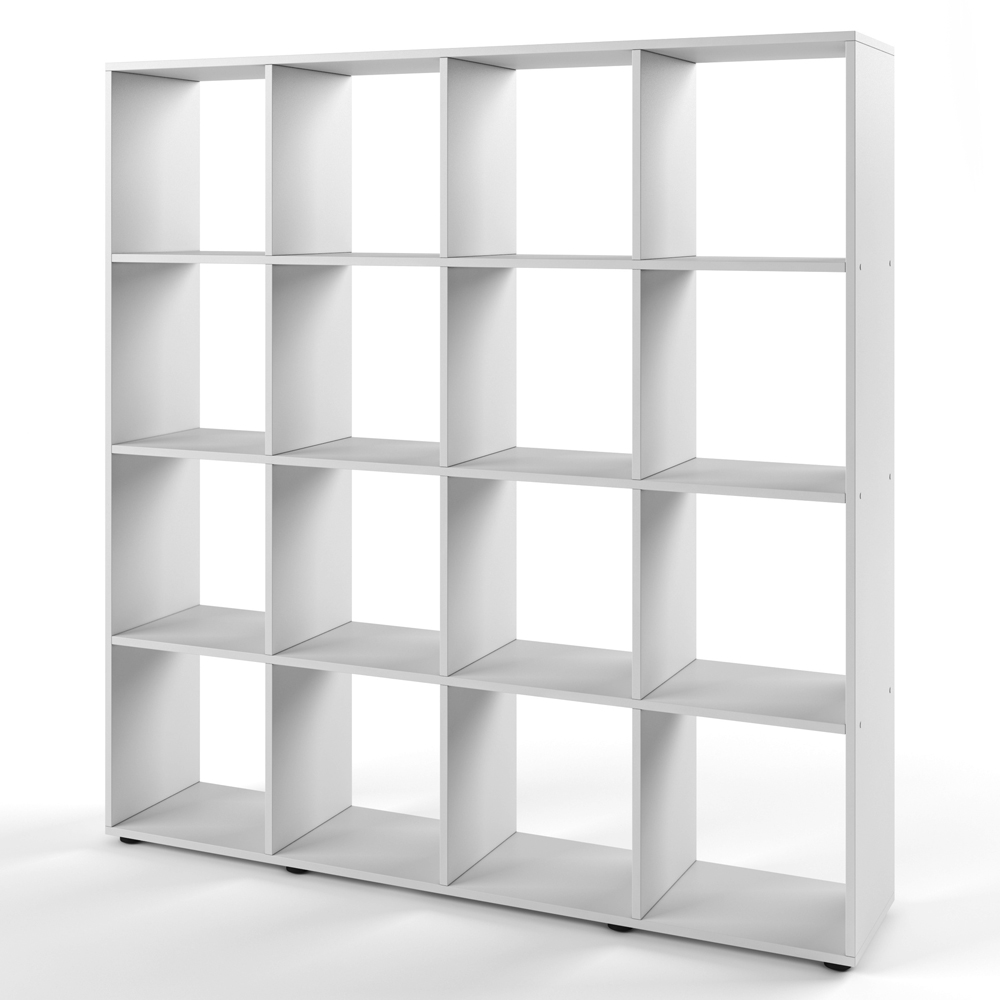 Bookcase room divider standing shelving filing shelves for Room divider storage