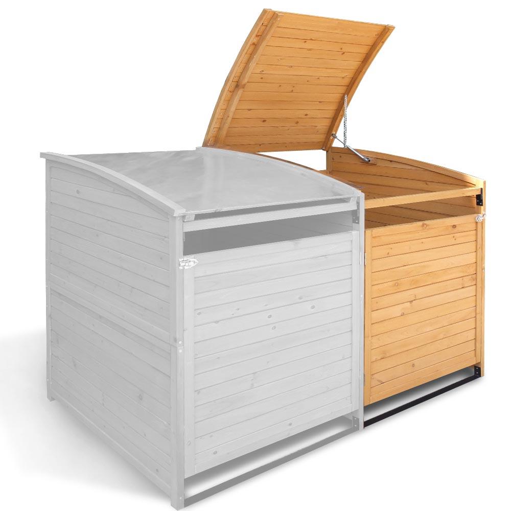 m lltonnenbox 240 l gartenbox holz m lltonnenverkleidung. Black Bedroom Furniture Sets. Home Design Ideas